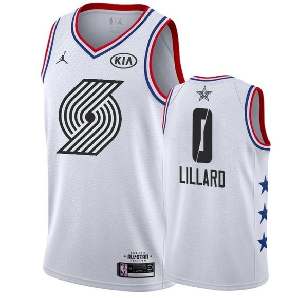 damian lillard all star jersey